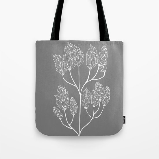 Leaf-like Sumac in Grey by createshed
