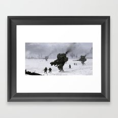soviet army Framed Art Print