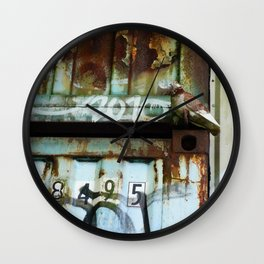 Hiding In Plain Sight Wall Clock