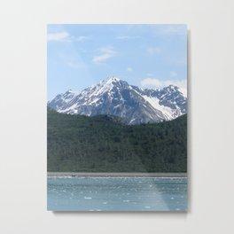 Lone Mountain Metal Print
