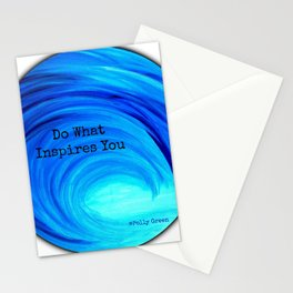 Do What Inspires You Stationery Cards