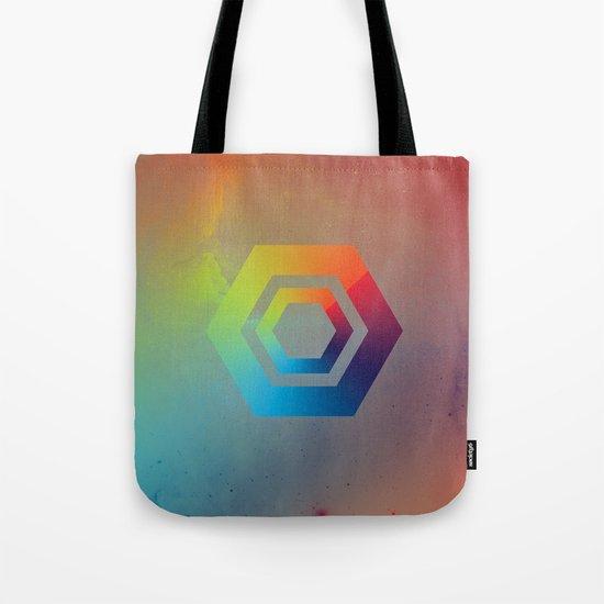 Hexagons Tote Bag