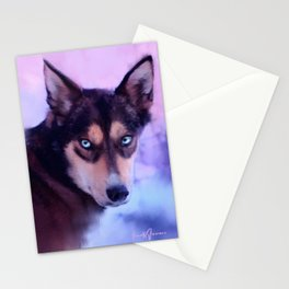 The Sled Dog Stationery Cards