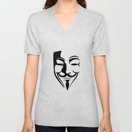 Guy Fawkes Unisex V-Neck