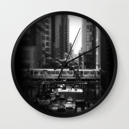 Urban Streets Wall Clock