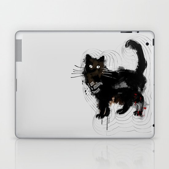I am a smiling person Laptop & iPad Skin