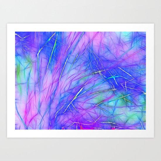 Blue Desire Art Print