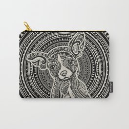 Polynesian Chihuahua Carry-All Pouch