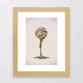 Chocolate Ball Framed Art Print