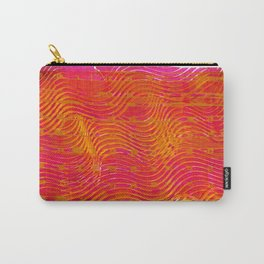 Psychedelic Waves Carry-All Pouch