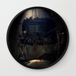Demons come out to play Wall Clock