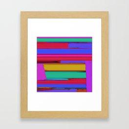 Linear echo Framed Art Print