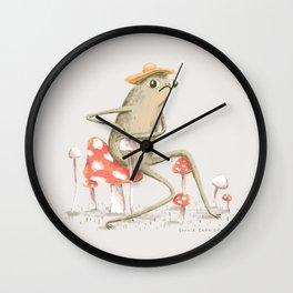 Awkward Toad Wall Clock