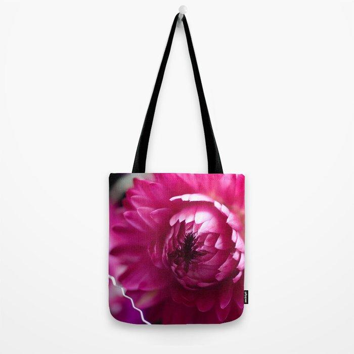 Hot Pink Flower #1 #art #society6 Tote Bag