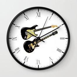 Elecric Guitars Wall Clock