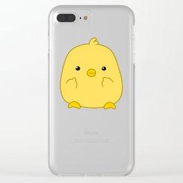 Cute Chick Clear iPhone Case