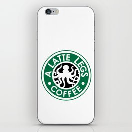 A Latte Legs :: Coffee iPhone Skin
