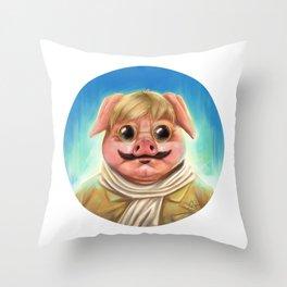 Studio Ghibli - Porco Rosso Throw Pillow