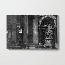 Inside The Vatican Metal Print