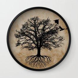 Tree of Life - Crow Tree A823 Wall Clock