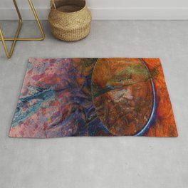Marble in 4 Panels Rug