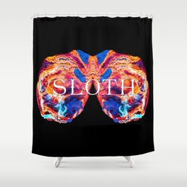 The Seven deadly Sins - SLOTH Shower Curtain