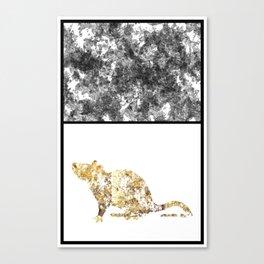 Gold Rat Canvas Print