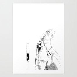 the shrimp sucker Art Print