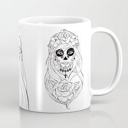 Santa Muerte NB Coffee Mug