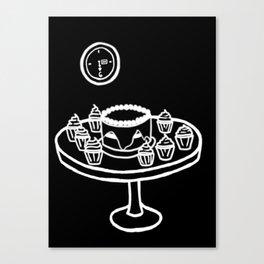 Dauntless Breakfast (BLACK) Canvas Print
