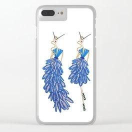Virginie & Véronique Clear iPhone Case