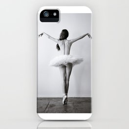 The Dying Swan iPhone Case
