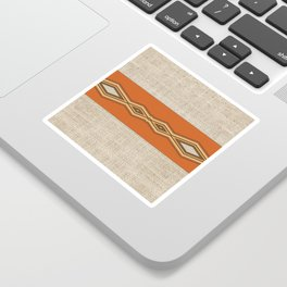 Southwestern Earth Tone Texture Design Sticker