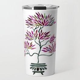 Bonsai Tree – Fuchsia Palette Travel Mug