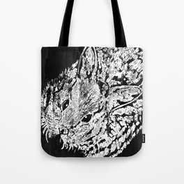 Negative rabbit Tote Bag