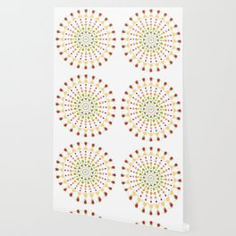 AFE Fruit Mandala Wallpaper