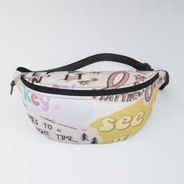 Pink Mood Fanny Pack