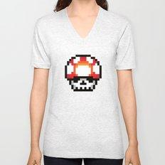 Skull Mushroom Unisex V-Neck