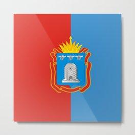 Flag of Tambov Metal Print