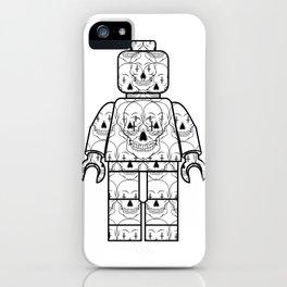 Skull-Brick iPhone Case