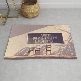 See Mystery Lights - Marfa, Texas Rug
