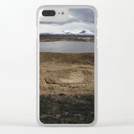 Iceland - Myvatn Clear iPhone Case