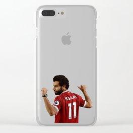M SALAH Clear iPhone Case