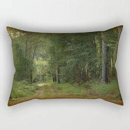 Lets Take The Road Less Traveled Rectangular Pillow