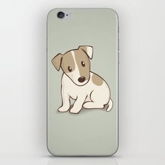 Jack Russell Terrier Dog Illustration iPhone & iPod Skin