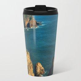 Cabo da Roca, Portugal Analog 6x6 Kodak Ektar 100 (RR 160) Travel Mug