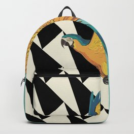Parrot Pattern Backpack