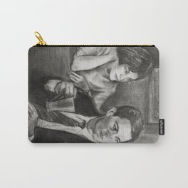 TWIN PEAKS - COOPER AND AUDREY Carry-All Pouch