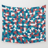 native Wall Tapestries featuring Native by Matt Borchert