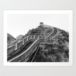 The Great Wall of China III Art Print